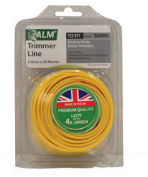 SL004 2.4 mm x 20m Yellow Trimmer Line