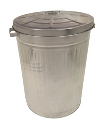 18 inch Galvanised Dustbin