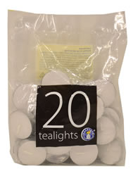 20 Packet Tealight Candles