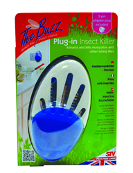 STV733 Plug-in Insect Killer with 2-pin travel adaptor