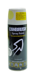 Canbrush 400 ml Satin White Paint C802 DGN
