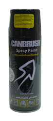 Canbrush 400 ml Hi Temp Black Paint H2 DGN OUT OF STOCK