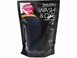 400g Dylon Wash and Dye Jeans Blue