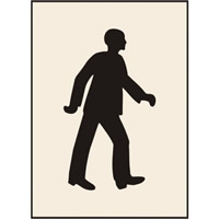 Walking Man 600 x 800 STN