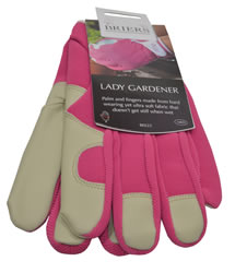 B0223 Pink Lady Gardener Medium Leather