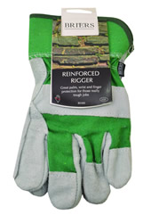 B0380 Reinforced Rigger Green Large Mens