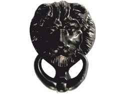 125 mm 5 inch Tudor Lions Head Door Knocker