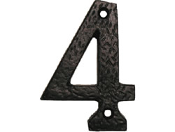 75 mm 3 inch Tudor Door Number 0