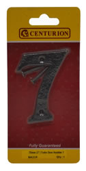 75 mm 3 inch Tudor Door Number 7