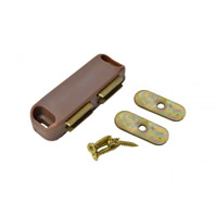 70 mm Brown Twin Magnetic Catch