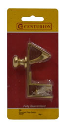 85 mm Polished Brass Counter Flap Catch