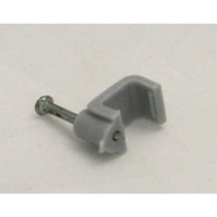 1.00 / 1.5 mm T+E Grey Cable Clips Packet of 13