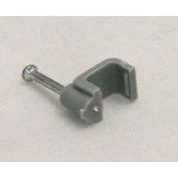 2.5 mm T+E Grey Cable Clips Packet of 11