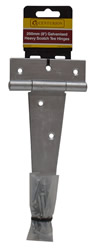 200 mm 8 inch Galvanised Heavy Scotch Tee Hinges 1 pair
