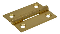 50 mm Electro Brass 1838 Pattern Steel Butt Hinge 1 pair