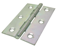 75 mm Zinc Plated 1838 Pattern Steel Butt Hinge 1 pair