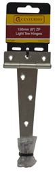 150 mm 6 inch Zinc Plated Light Tee Hinges 1 pair