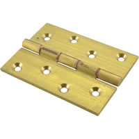 4 inch x 3 inch x 3.5 mm SC Medium Duty Solid Drawn Butt Hinges DPBW 1 pair