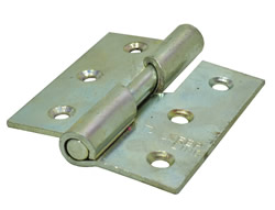 75 mm 3 inch SC Left Hand 466 Pattern Steel Rising Butt Hinges 1 pair