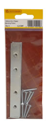 125 mm Zinc Plated Mending Plate Packet of 2