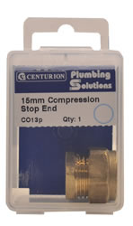 15 mm Compression Stop End
