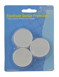 Child Safety Electrical Socket Protectors Packet of 6