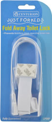 Child Safety Fold Away Toilet Lock