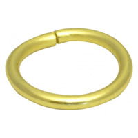 32 mm Electro Brass Curtain Rings