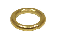 19 mm Electro Brass Curtain Rings