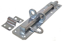 200 mm 8 inch Zinc Plated Brenton Padlock Bolt 2A Pattern