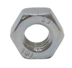 M6 Zinc Plated Steel Hex Nuts