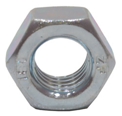 M12 Zinc Plated Steel Hex Nuts