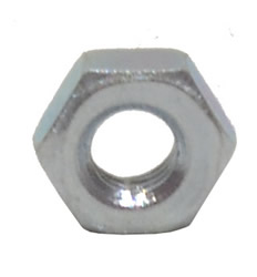 M3 Zinc Plated Steel Hex Nuts
