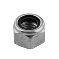 M8 Stainless Steel Nylon Locking Nuts Packet of 4