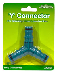 1 / 2 inch BSP Y Connector