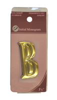 1 1 / 2 inch Gold Effect Letter B