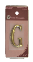 1 1 / 2 inch Gold Effect Letter G