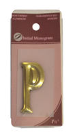 1 1 / 2 inch Gold Effect Letter P
