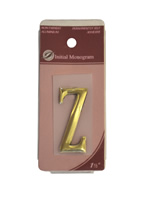 1 1 / 2 inch Gold Effect Letter Z