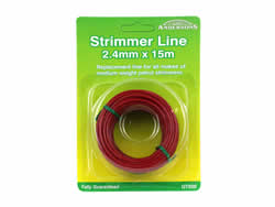 2.4 mm x 15 metres Spool Strimmer Line