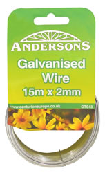 15m x 2 mm Galvanised Wire