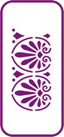 135 mm x 60 mm Mini Stencil Athena