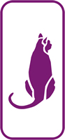 135 mm x 60 mm Mini Stencil Sitting Cat