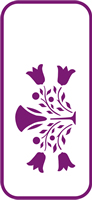 135 mm x 60 mm Mini Stencil Thistle Motif