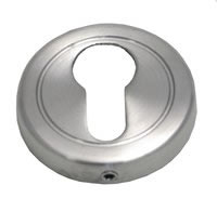 51 mm Satin Chrome Plated Euro Cylinder Escutcheon