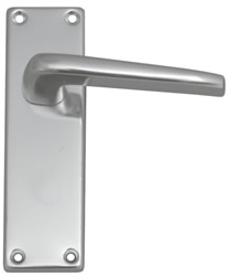 102 mm x 40 mm satin anodised aluminium Lincoln Lever Latch