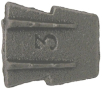 21 x 22 x 3.5 mm No 4 Hammer Wedge