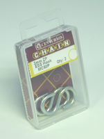 3 mm Zinc Plated S Hook Packet of 2