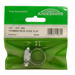 11 16 mm Thumbscrew Hose Clip