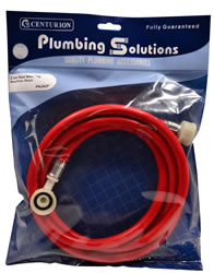 2.5 metres Red Washing Machine Hose